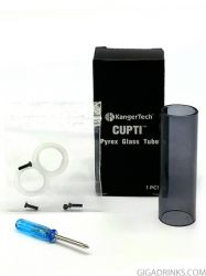 Kanger Cupti Glass Tube