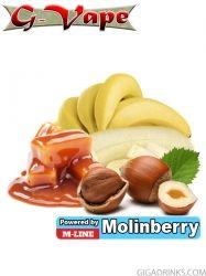 Nut Banana 10ml - концентриран аромат за овкусяване от Molinberry / G-Vape