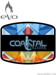 Coastal Collider 10ml / 3mg - никотинова течност Evo