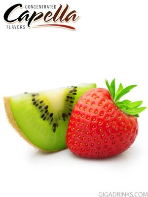 Kiwi Strawberry with Stevia 10ml - концентриран аромат от Capella Flavors USA