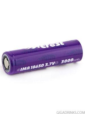 Батерия Efest 18650 IMR 3000mAh 35A 3.7V Purple
