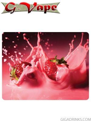 Strawberry Milkshake 10ml / 18mg - никотинова течност G-Vape