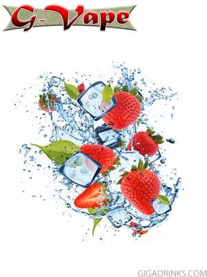 Strawberry Menthol 30ml / 6mg - никотинова течност G-Vape
