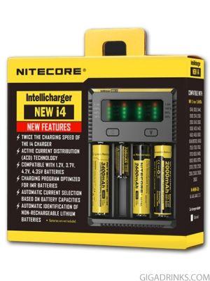 Зарядно Nitecore New I4