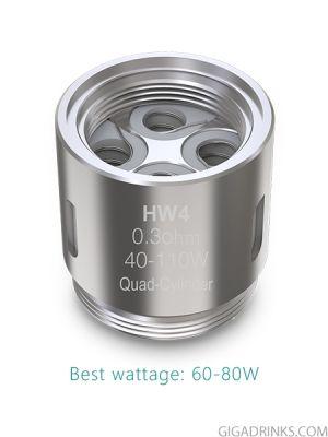Eleaf HW4 Quad-Cylinder coil head