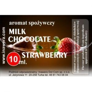 Inawera Milk Chocolate Strawberry Flavor 10ml- aромат за никотинова течност