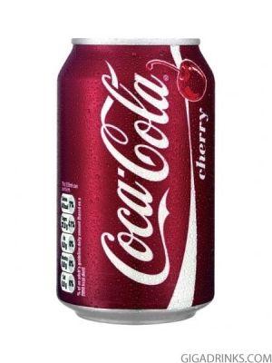 Кока Кола Чери кен 0.33л