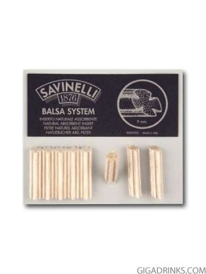 Филтри за лула Savinelli Balsa System 15бр.