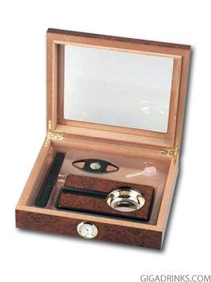 Хумидор подаръчен комплект