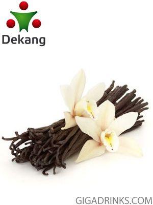 Vanilla - никотинова течност за ел.цигари Dekang