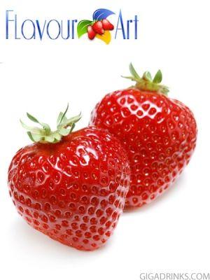 Strawberry 10ml / 18 - никотинова течност за електронни цигари Flavour Art