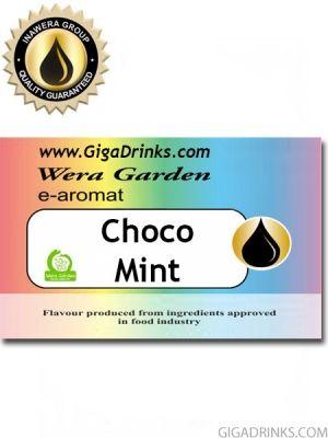 Choco Mint 10мл - aромат за никотинова течност Inawera Wera Garden