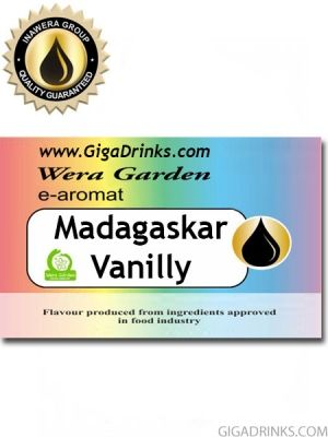 Madagascar Vanilly 7мл - aромат за никотинова течност Inawera Wera Garden