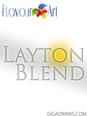 Layton Blend 10ml / 18mg - никотинова течност за електронни цигари Flavour Art