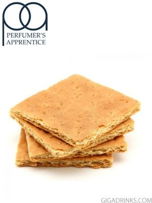 Graham Cracker Clear - аромат за никотинова течност The Perfumers Apprentice 10мл