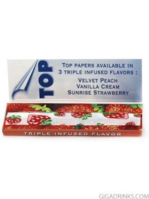 Top Strawberry - ароматизирани хартийки за цигари