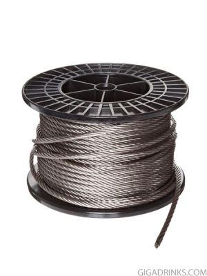 Стоманено въже (Wire rope) 7x7 / 2mm