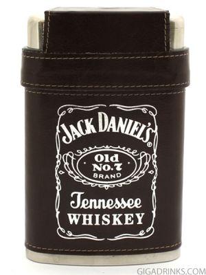 Манерка Jack Daniels с 3 чашки - кафява