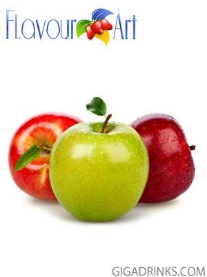 Apple (Stark) 10ml / 9mg - никотинова течност за електронни цигари Flavour Art