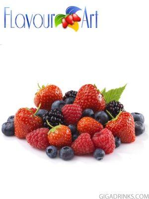 Forest Fruits 10ml / 9mg - никотинова течност за ел.цигари Flavour art