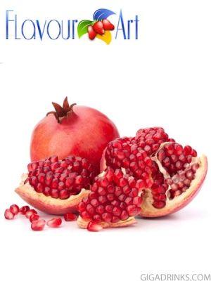 Pomegranate 10ml / 18mg - никотинова течност за ел.цигари Flavour art