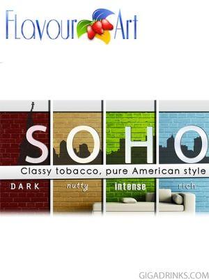 Soho 10ml / 9mg - никотинова течност за ел.цигари Flavour art