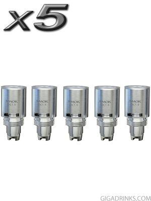 Картомайзер Smok T-Dux Dual Coil Head (T-Core) - 5бр.