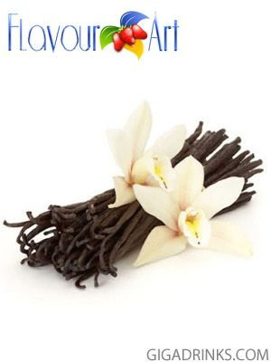 Vanilla 10ml / 9mg - никотинова течност за електронни цигари Flavour Art